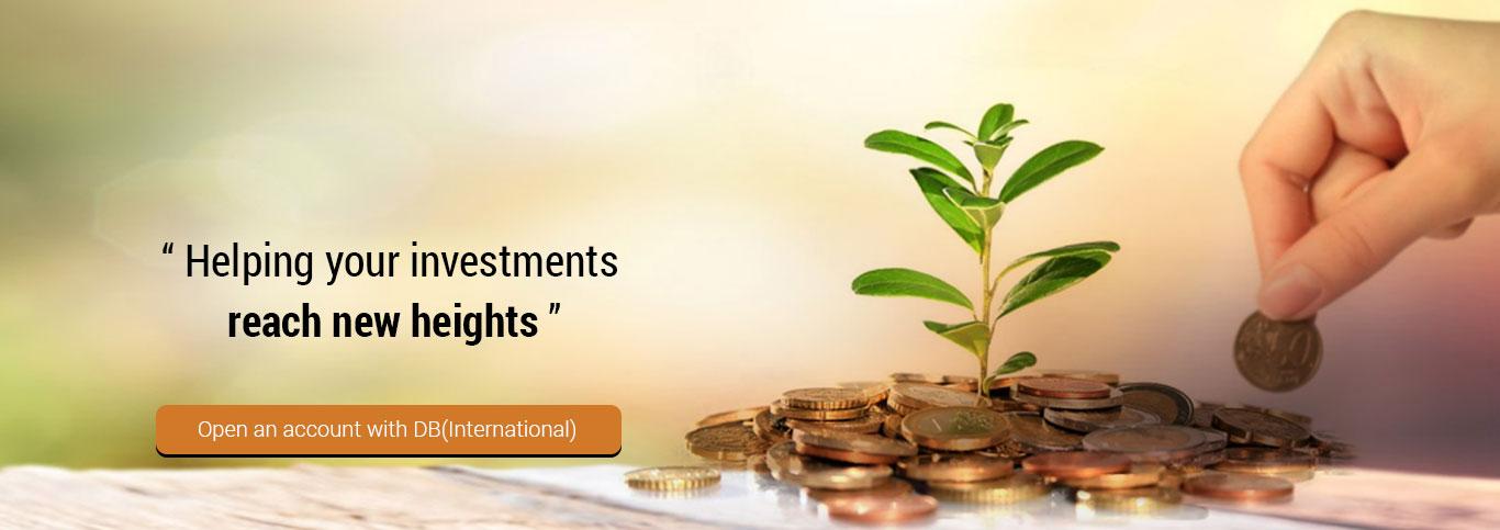 Online Stock Trading DB International Stock Brokers Ltd